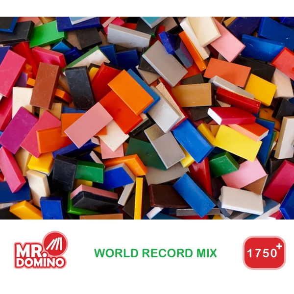 Domino World Record Mix 1750+