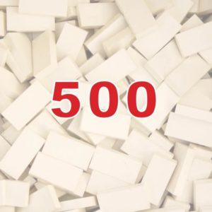 500 small domino's